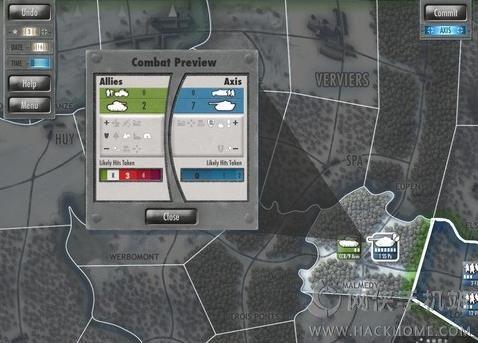 突击部战役手游官方iOS版(Nuts Battle of the Bulge)图3:
