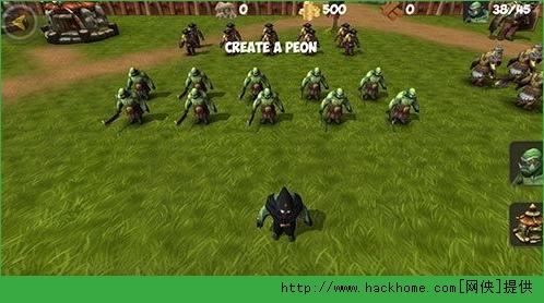 魔兽战争RTS官网IOS版图3: