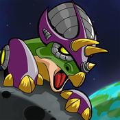 机甲恐龙劫持月球