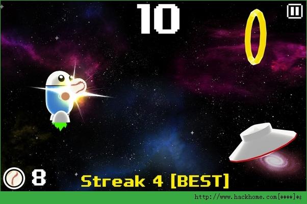 太空棒球游戏官网iOS版(SBACEBALL)图1: