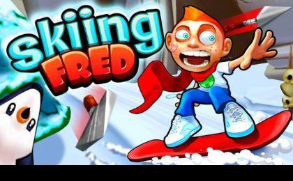 弗雷德滑雪竞速免费版图3