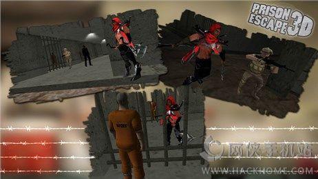 越狱3D官方iOS手机游戏图2: