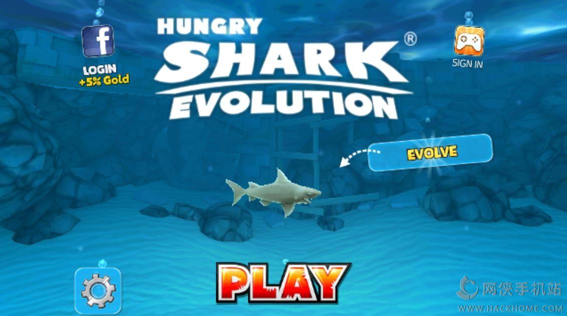 饥饿鲨进化评测:消灭所有的小鱼图片1