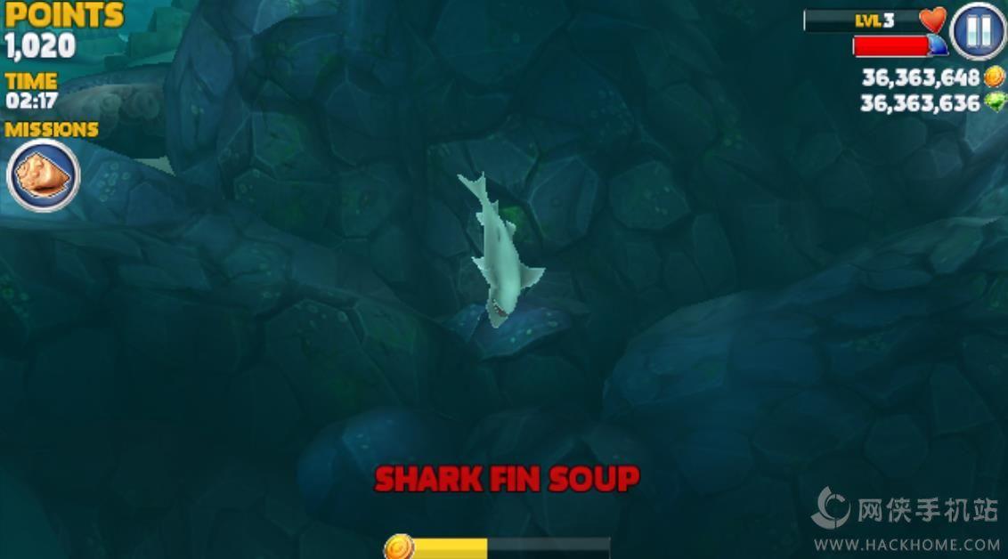 饥饿鲨进化评测:消灭所有的小鱼图片3