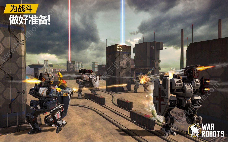 War Robots官网安卓版手机游戏图1: