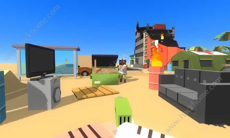 沙盒射击世界中文内购破解版(Simple Sandbox)图1: