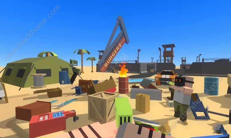 沙盒射击世界中文内购破解版(Simple Sandbox)图3: