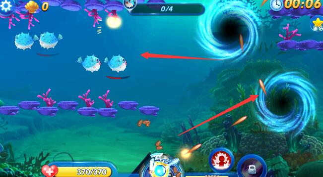 捕鱼来了双重漩涡攻略 巧用漩涡获取金币[图]