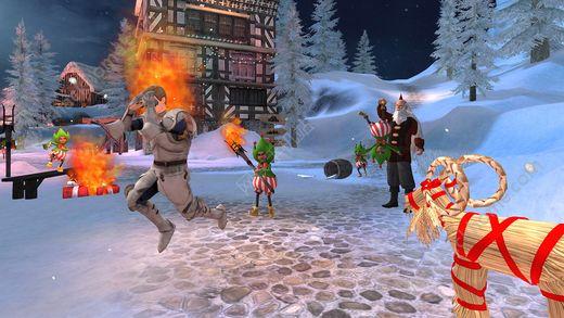 山羊模拟器MMO圣诞官网最新版(Goat Simulator MMO Simulator)图1: