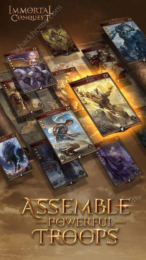 网易游戏不朽征服官方网站唯一正版(Immortal Conquest)图3: