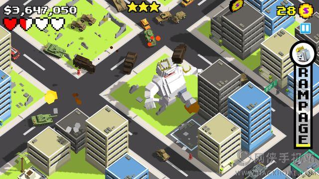 粉粹城市游戏手机版官方下载(Smashy City)图3: