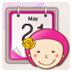 女生生理周期日历