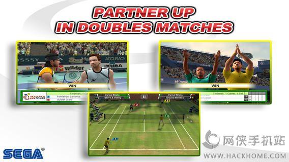 VR网球无限金钱全通关iOS破解存档(Virtua Tennis Challenge)图2: