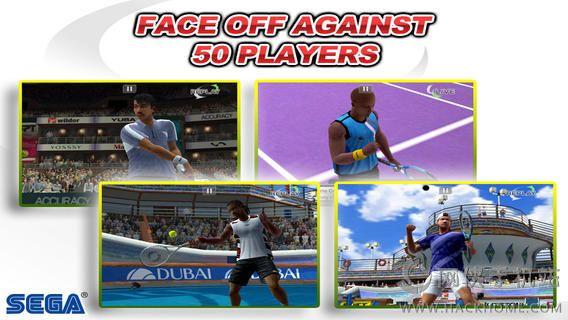 VR网球无限金钱全通关iOS破解存档(Virtua Tennis Challenge)图4: