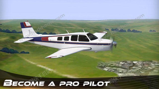 飞机飞行模拟器的3D汉化中文破解版图2: