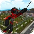 火柴人绳索英雄无限金币内购破解版(Stickman Rope Hero ) v3.0