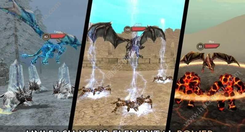 龙族模拟器无限金币中文破解版(Dragon Sim Online )图3:
