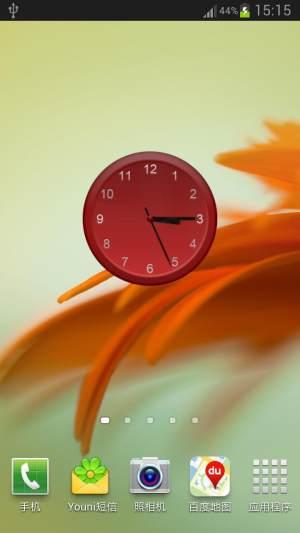 模拟时钟app图1