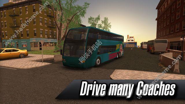 中国长途客车模拟游戏安卓手机版下载(Coach Bus Simulator)图1: