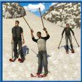 滑雪竞速冒险游戏