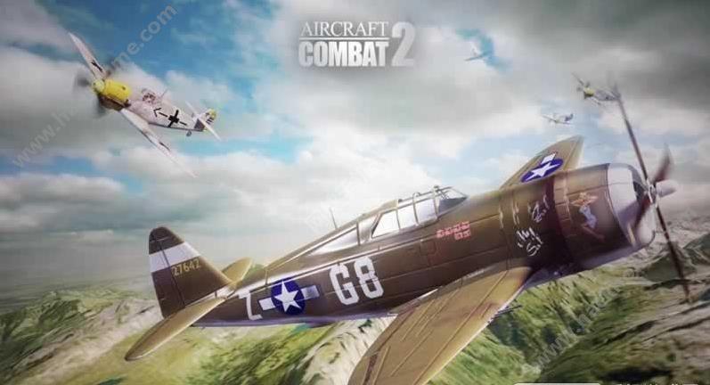飞行战斗2飞机大战游戏手机版下载(AircraftCombat2)图1: