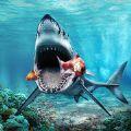 饥饿的大白鲨攻击模拟器汉化中文破解版 v1.1