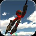 火柴人绳索英雄2无限金币内购破解版(stickman rope hero 2) v1.1