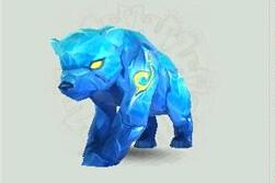 稀有冰焰熊
