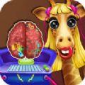 长颈鹿公主的大脑手术游戏