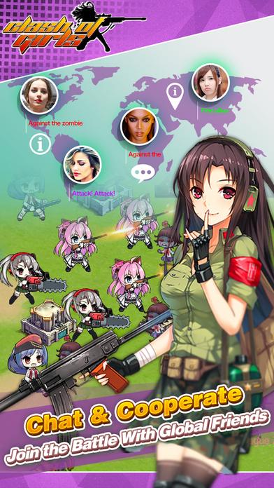僵尸少女手游官网正版(Zombie Girls)图3: