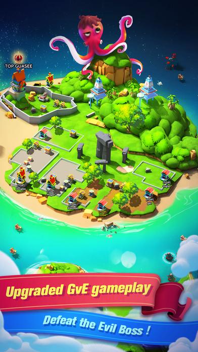 小岛大作战中文汉化安卓版(Sea Game)图1: