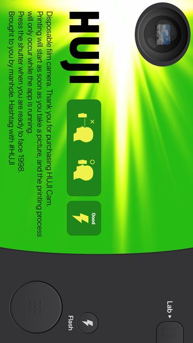 Huji Cam相机软件app下载手机版图1: