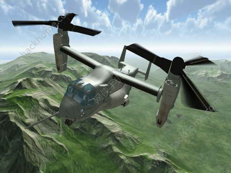 鱼鹰操作直升机模拟器完整中文破解版图1: