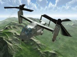 鱼鹰操作直升机模拟器游戏图1