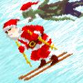 圣诞老人和僵尸的滑雪大战破解版中文版 v1.0