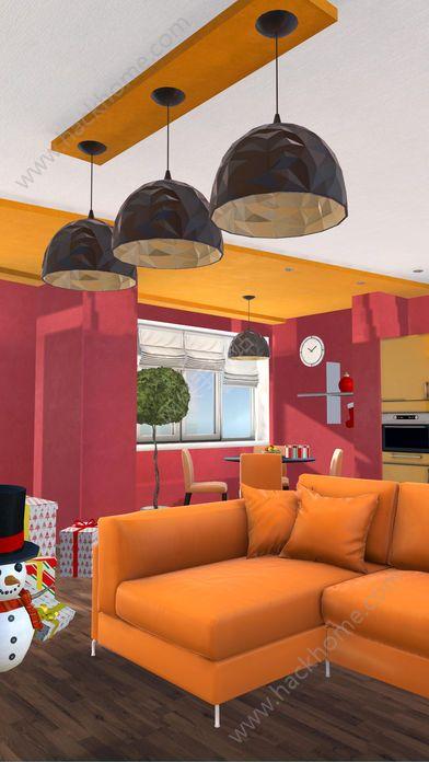 密室逃脱逃出豪华的圣诞公寓无限提示破解版图3: