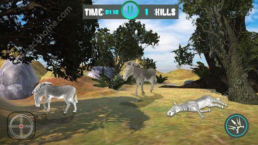 鹿狩猎狙击手挑战游戏ios版图5:
