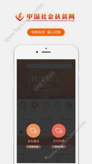 中国社会扶贫网app图3