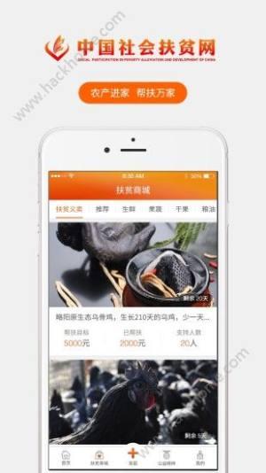 中国社会扶贫网app图1