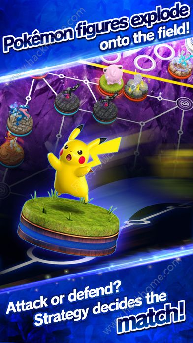 精灵宝可梦对战国服官方网站(Pokemon Duel)图1: