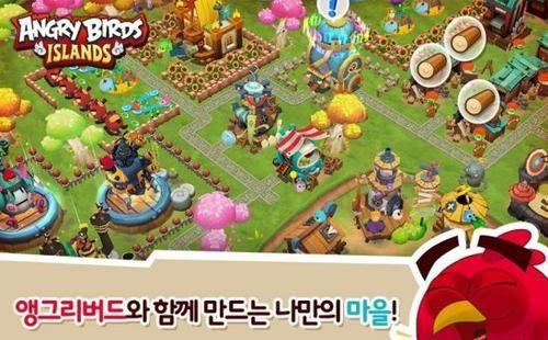 愤怒的小鸟岛屿攻略大全 Angry Birds Islands全建筑解锁总汇[多图]
