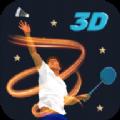 3D专业羽毛球竞赛中文无限金币破解版(3D Pro Badminton Challenge) v1.0