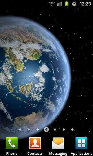 3D高清地球旋转动态壁纸图片图3