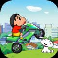 蜡笔小新摩托车中文汉化版下载(Shin Bike) v1.0