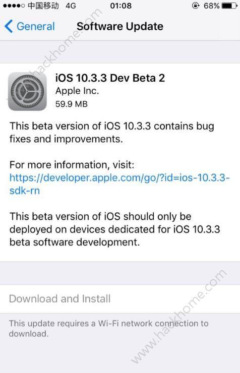 iOS10.3.3beta2怎么样?iOS10.3.3 beta2值得更新吗[图]图片1