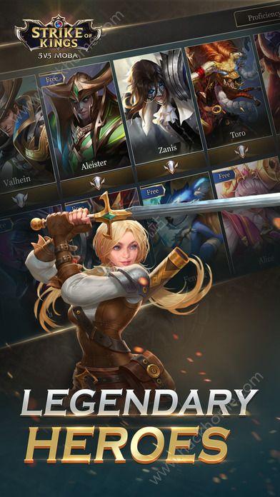 传奇对决5V5手游官方网站(Strike of Kings)图3: