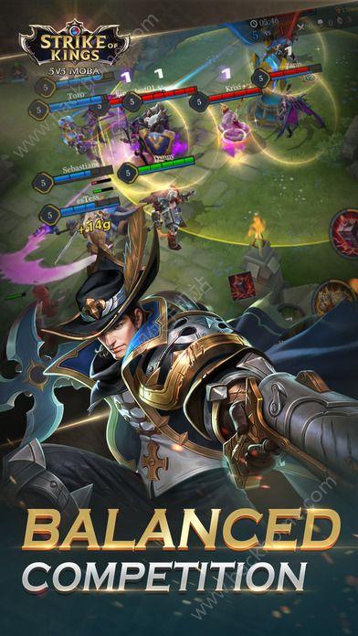 传奇对决5V5手游官方网站(Strike of Kings)图5: