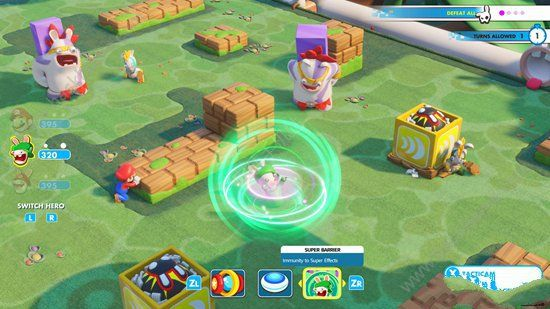 马里奥疯狂兔子王国之战手机游戏官网正版下载图1: