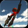 火柴人绳索侠客2游戏中文汉化版(Stickman Rope Hero 2) v1.1