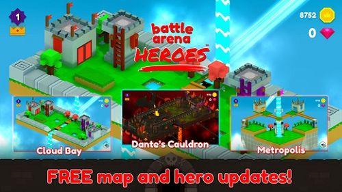 斗技场英雄官网手机游戏(Battle Arena Heroes)图5: